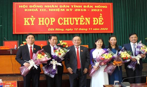 Đắk Nông: Giám đốc Sở TN&MT được bầu giữ chức Phó Chủ tịch UBND tỉnh