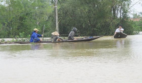 Huế: Ít nhất 4 người tử vong do mưa lũ