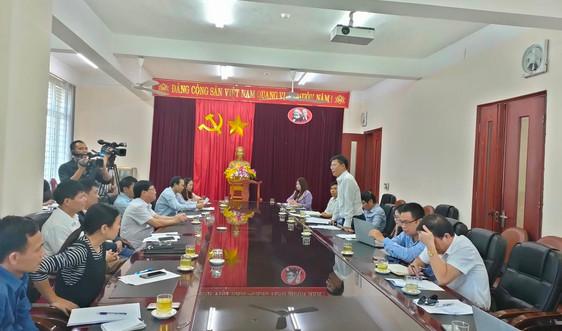 Hội nghị tuyên truyền về tài nguyên và môi trường cho phóng viên