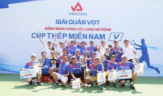 Giải quần vợt ĐBSCL mở rộng Cúp Thép Miền Nam – VNSTEEL lần thứ 5 tổ chức thành công