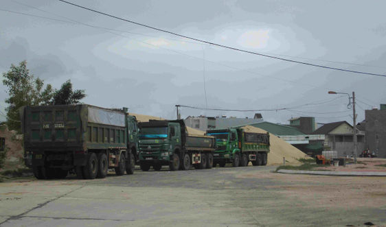 Bình Định: Vì sao Công ty Xuân Phát lấn chiếm đất đai làm bãi tập kết cát không bị xử lý dứt điểm?