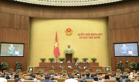 Quốc hội thảo luận về Dự án Luật Lực lượng tham gia bảo về an ninh, trật tự ở cơ sở
