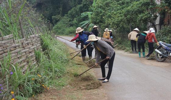 Sơn La kiểm tra việc thực hiện tiêu chí môi trường tại các xã đăng ký đạt chuẩn NTM