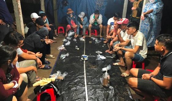 Quảng Nam: Triệt xóa liên tiếp 2 tụ điểm đánh bạc dưới hình thức xóc đĩa