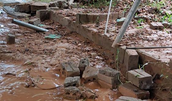 Bắc Quang – Hà Giang: Công trình kém chất lượng, nhà dân gánh hậu quả