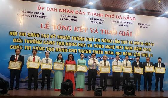 """""""Hệ thống đo mưa tự động cảnh báo mưa lũ và vận hành hồ chứa"""" đạt giải nhất Giải thưởng Sáng tạo Khoa học và Công nghệ Việt Nam"""