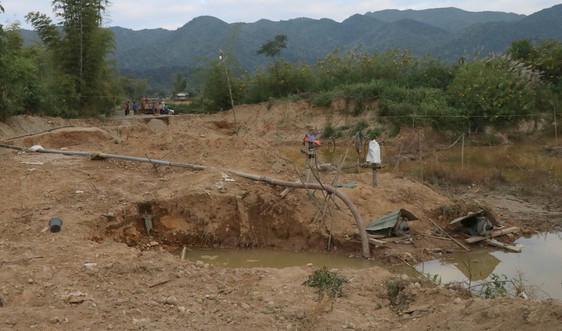 """TP. Điện Biên Phủ: Cần mạnh tay xử lý tình trạng khai thác cát """"chui"""" ở Mường Phăng"""
