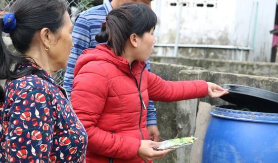 Hà Tĩnh: Thùng rác di động – Cách làm hay giúp xử lý rác tại nguồn ở các khu vực đô thị