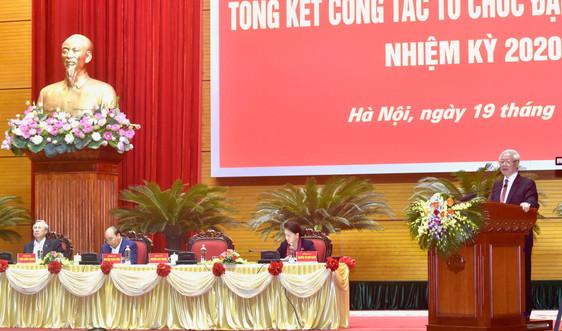 Phát biểu của Tổng Bí thư, Chủ tịch nước Nguyễn Phú Trọng tại Hội nghị cán bộ toàn quốc