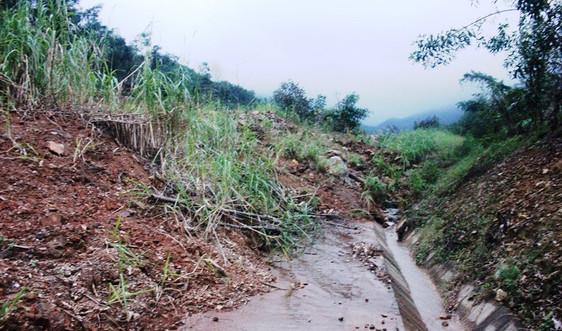 Quảng Ngãi:  Khẩn trương khắc phục các tuyến đường bị sạt lở núi