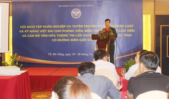 Nâng cao kỹ năng tuyên truyền về tình hình biên giới Việt - Lào