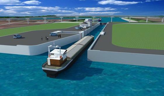 Nam Định: Động thổ cụm công trình kênh nối sông Đáy - sông Ninh Cơ
