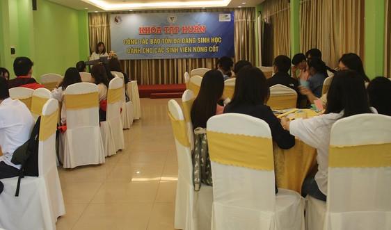Đà Nẵng: Tập huấn bảo tồn đa dạng sinh học cho sinh viên nòng cốt