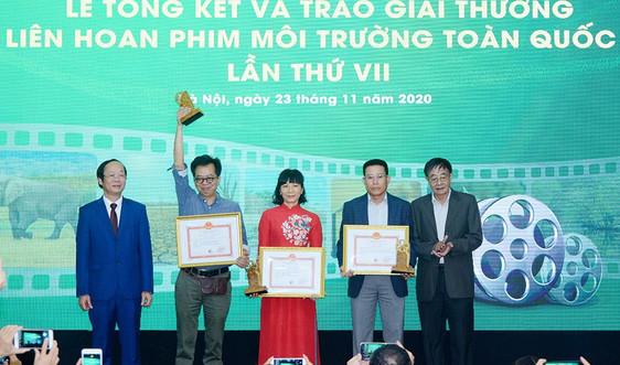 15 tác phẩm đoạt giải tại Liên hoan Phim môi trường toàn quốc lần thứ 7