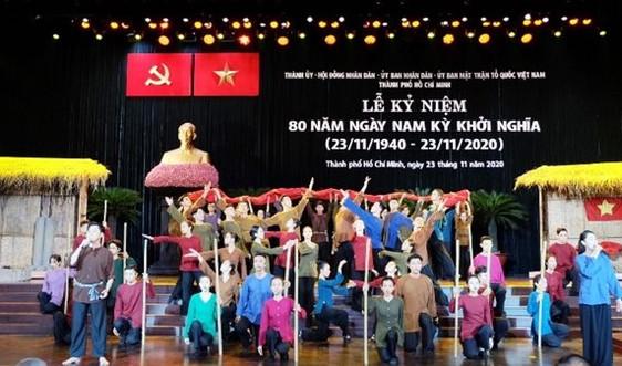 TP.HCM long trọng kỷ niệm 80 năm ngày Nam Kỳ khởi nghĩa