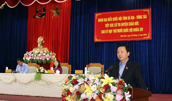 Bộ trưởng Trần Hồng Hà: Đại biểu Quốc hội luôn đặt lợi ích của nhân dân lên hàng đầu
