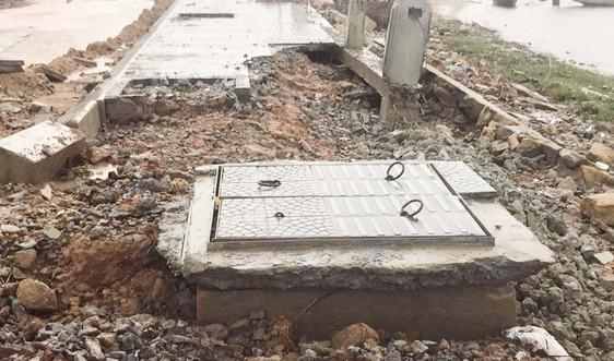 """Vụ công trình hơn 170 tỷ đồng """"nát"""" sau mưa bão ở Thừa Thiên Huế: Khắc phục như thế nào?"""