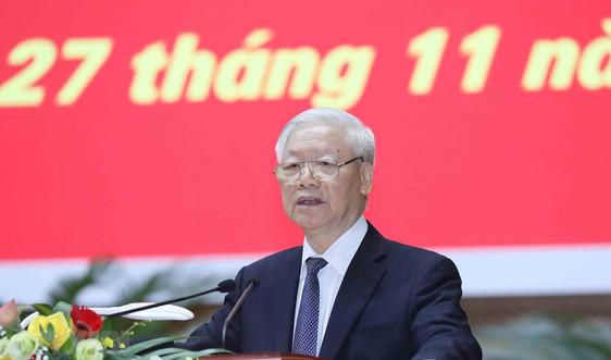 Phát biểu của Tổng Bí thư, Chủ tịch nước tại Hội nghị tổng kết công tác kiểm tra, giám sát nhiệm kỳ Đại hội XII của Đảng