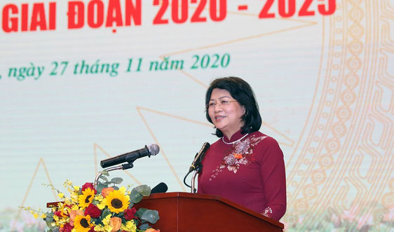 Phó Chủ tịch nước Đặng Thị Ngọc Thịnh: Ngành TN&MT khẳng định được vị thế trong phát triển bền vững của đất nước