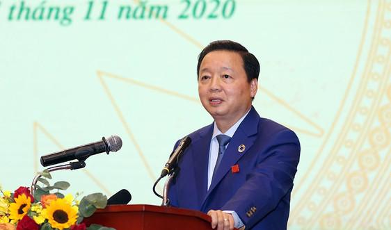 Ngành TN&MT thi đua đổi mới, sáng tạo, trách nhiệm vì sự phát triển của đất nước, vì một Việt Nam hùng cường