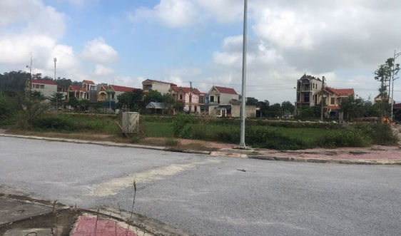 TP Thanh Hóa: Dự án khu dân cư hơn 122 tỷ chưa bàn giao đất đã bán rầm rộ