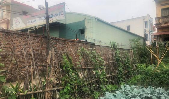 TP. Bắc Ninh: Sẽ xử lý nghiêm nhà xưởng trái phép trên đất nông nghiệp