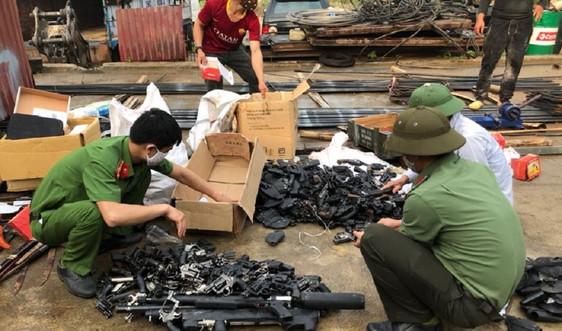 Sơn La: Tăng cường phòng ngừa, đấu tranh với vi phạm về vũ khí, vật liệu nổ, pháo