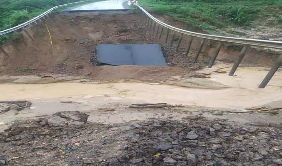 Đắk Lắk: Mưa lớn, sạt sở nghiêm trọng nhiều khu vực