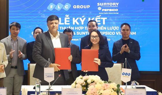 Tập đoàn FLC và Suntory PepsiCo Vietnam ký kết hợp tác chiến lược