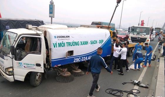Hà Nội: Công nhân môi trường gặp tại nạn dẫn đến tử vong trong giờ làm việc