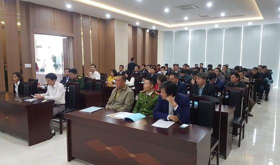 Sở TN&MT Sơn La triển khai 2 hội nghị tuyên truyền pháp luật về tài nguyên nước, BVMT