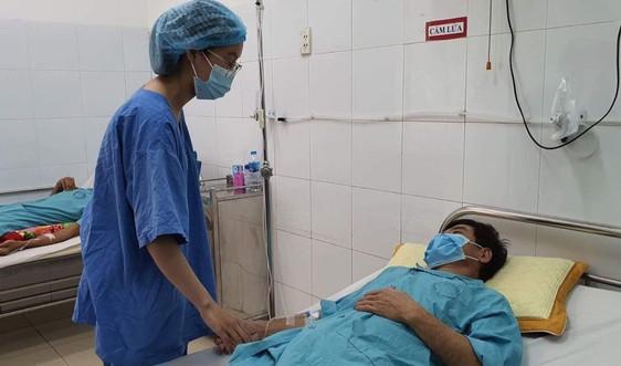 Sau mưa lũ, bệnh nhân Whitmore ở miền Trung gia tăng đột biến