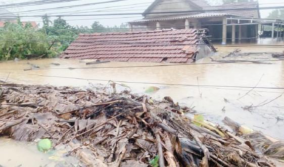 Thừa Thiên Huế: Mưa lũ, bão gây thiệt hại nặng nề