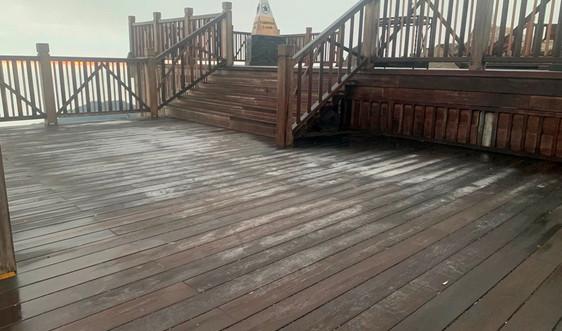 Lào Cai: Xuất hiện băng tuyết tại khu du lịch quốc gia Sa Pa
