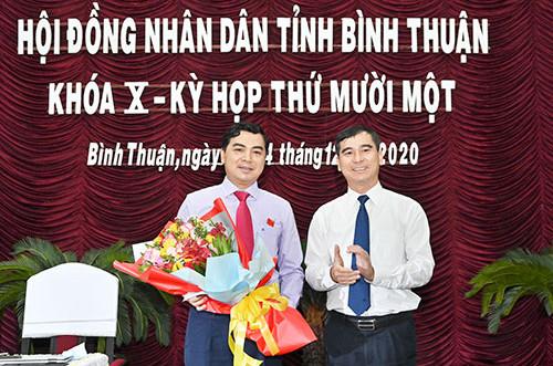 Phó Bí thư Thường trực Tỉnh ủy giữ chức Chủ tịch HĐND tỉnh Bình Thuận