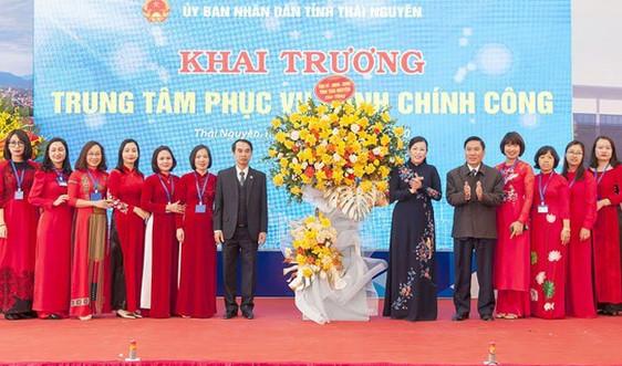 Khai trương Trung tâm phục vụ hành chính công Thái Nguyên