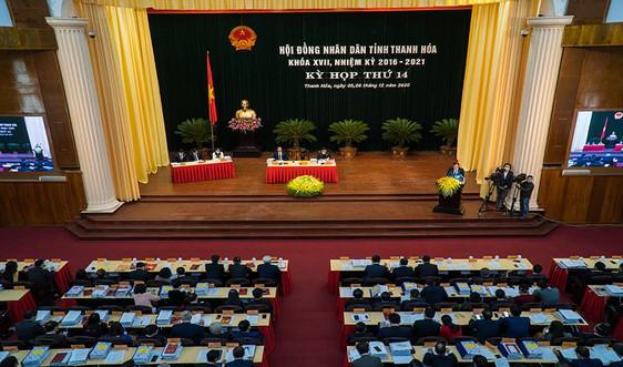 Thanh Hóa: Khai mạc kỳ họp thứ 14 HĐND tỉnh khóa XVII