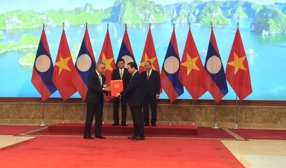 Việt Nam – Lào thúc đẩy hợp tác chiến lược về khí tượng thủy văn