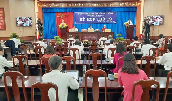 Bến Tre: Khai mạc Kỳ họp thứ 19 HĐND tỉnh