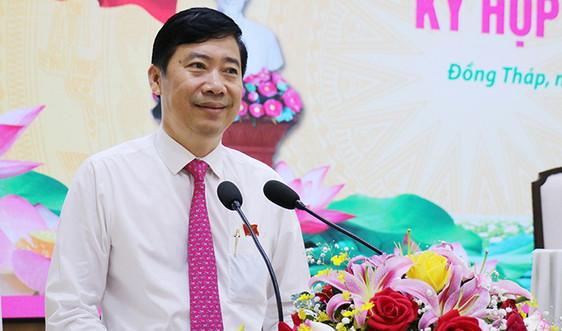 Đồng Tháp có tân Chủ tịch UBND tỉnh