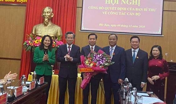 Phó Chủ tịch UBND tỉnh Lạng Sơn làm Phó Bí thư Tỉnh ủy Bắc Kạn