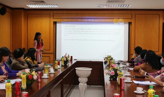 Nữ tri thức nghiên cứu khoa học về môi trường - nông nghiệp
