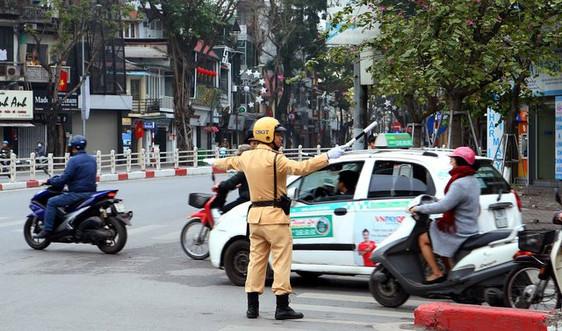 Cao điểm bảo đảm trật tự an toàn giao thông Tết 2021