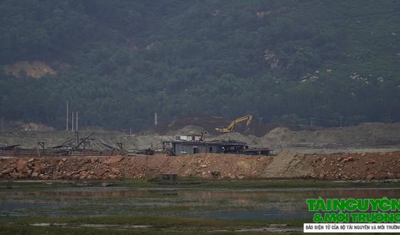 Nghi Sơn (Thanh Hóa): Cần làm rõ việc Công ty Công Thanh khai thác cát trái phép tại Bến cảng số 6