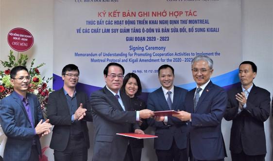 Cục Biến đổi khí hậu và Công ty 3M ký kết hợp tác