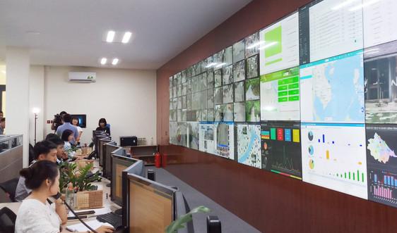 Thừa Thiên Huế: Giám sát môi trường thông qua dữ liệu tại Trung tâm giám sát, điều hành đô thị thông minh