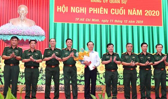 Đồng chí Nguyễn Văn Nên giữ chức Bí thư Đảng ủy Quân sự TPHCM