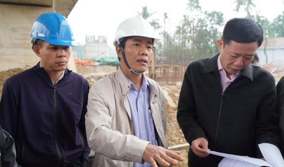 Thừa Thiên Huế: Xử lý vướng mắc trong giải phóng mặt bằng, tiến độ thi công cao tốc Cam Lộ - La Sơn