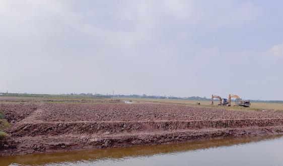 Đông Hưng - Thái Bình: Cần sớm chấn chỉnh việc bán đất ruộng trái phép ở cánh đồng Chiếp