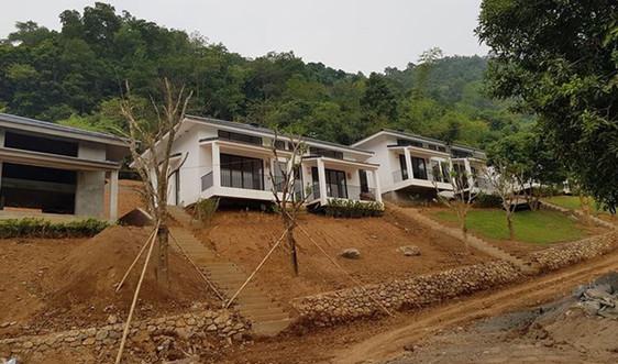 Chủ tịch tỉnh Hoà Bình chỉ đạo kiểm tra phản ánh của Báo TN&MT về Dự án Onsen Villas